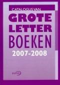 Bekijk details van Catalogus van grote letter boeken