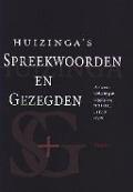 Bekijk details van Huizinga's spreekwoorden en gezegden