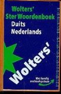 Bekijk details van Wolters' ster woordenboek Duits-Nederlands
