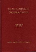 Bekijk details van Genealogisch repertorium