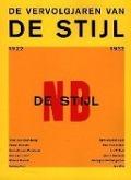 Bekijk details van De vervolgjaren van De Stijl 1922-1932