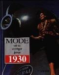 Bekijk details van Mode uit de dertiger jaren