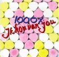 Bekijk details van 1000 x Ik hou van jou