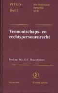 Bekijk details van Vennootschaps- en rechtspersonenrecht