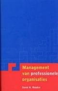 Bekijk details van Management van professionele organisaties