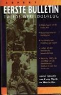 Bekijk details van Eerste bulletin van de Tweede Wereldoorlog