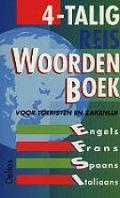 Bekijk details van 4-talig reiswoordenboek