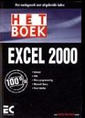 Bekijk details van Hét boek Excel 2000