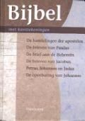 Bekijk details van Bijbel in de nieuwe vertaling van het Nederlands Bijbelgenootschap met verklarende kanttekeningen