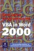 Bekijk details van Snel leren programmeren VBA in Word 2000