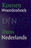 Bekijk details van Koenen woordenboek Duits-Nederlands