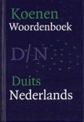 Bekijk details van Koenen woordenboek Nederlands-Duits