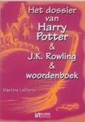 Bekijk details van Het dossier van Harry Potter & J.K. Rowling & woordenboek