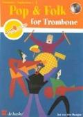 Bekijk details van Pop & folk; For trombone