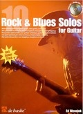 Bekijk details van 10 Rock & blues solos for guitar