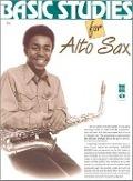 Bekijk details van Basic studies for alto sax