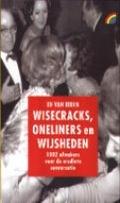 Bekijk details van Wisecracks, oneliners en wijsheden