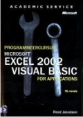 Bekijk details van Programmeercursus Microsoft Excel 2002 Visual Basic for Applications