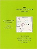Bekijk details van Het architectonisch denken en andere architectuurtheoretische studies