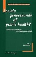 Bekijk details van Sociale geneeskunde of public health