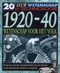 Bekijk details van 20ste eeuw; Wetenschap & technologie; 1920-40