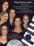 Bekijk details van Play piano with... Katie Melua, Norah Jones, Delta Goodrem, Christina Aguilera, Vanesse Carlton, Alicia Keys & DJ Sammy