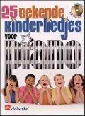 Bekijk details van 25 Bekende kinderliedjes voor piano