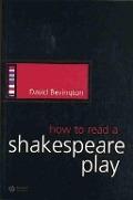 Bekijk details van How to read a Shakespeare play