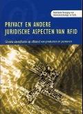 Bekijk details van Privacy en andere juridische aspecten van RFID: unieke identificatie op afstand van producten en personen