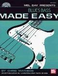 Bekijk details van Blues bass made easy