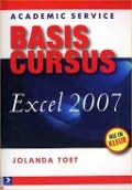 Bekijk details van Basiscursus Excel 2007