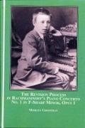Bekijk details van The revision process in Rachmaninoff's Piano concerto no. 1 in F-sharp minor, opus 1