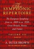 Bekijk details van The European symphony from ca. 1800 to ca. 1930