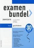 Bekijk details van Examenbundel havo geschiedenis; 2009/2010