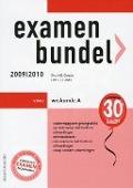 Bekijk details van Examenbundel vwo wiskunde A; 2009/2010