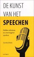 Bekijk details van De kunst van het speechen