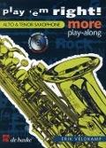 Bekijk details van Play 'em right!; More play-along; Alto- & tenor saxophone