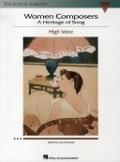 Bekijk details van Women composers; High voice