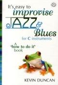 Bekijk details van It's easy to improvise jazz & blues; for C instruments