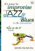 Bekijk details van It's easy to improvise jazz & blues; For B♭ instruments