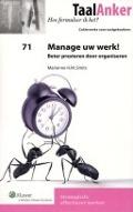 Bekijk details van Manage uw werk!