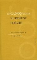 Bekijk details van De canon van de Europese poëzie