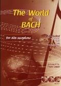 Bekijk details van The world of Bach; For alto saxophone