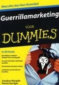 Bekijk details van Guerrillamarketing voor dummies