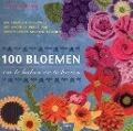 Bekijk details van 100 bloemen om te haken en te breien