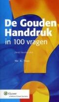 Bekijk details van De gouden handdruk in 100 vragen