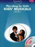 Bekijk details van Kids' musicals; Playalong for violin