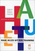 Bekijk details van Haal alles uit een training