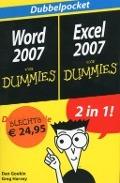 Bekijk details van Dubbelpocket Word 2007 voor dummies, Excel 2007 voor dummies