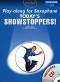Bekijk details van Today's showstoppers; Playalong for saxophone